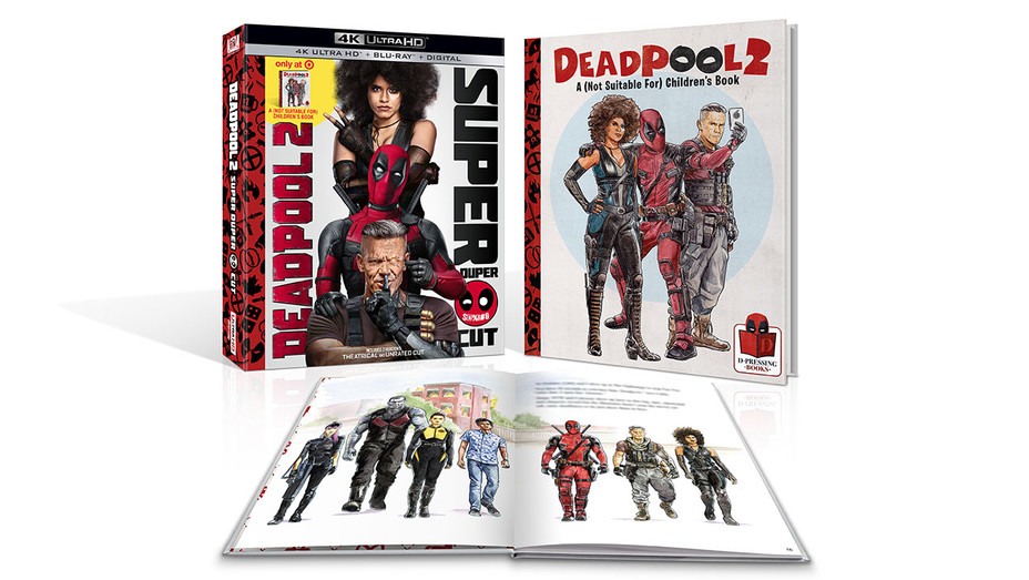 Deadpool 2 blu-ray - Publicity - H 2018