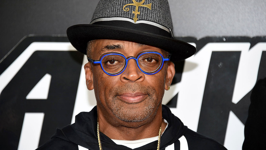 "Spike Lee attends the ""BlacKkKlansman"" New York premiere - Getty-H 2018"