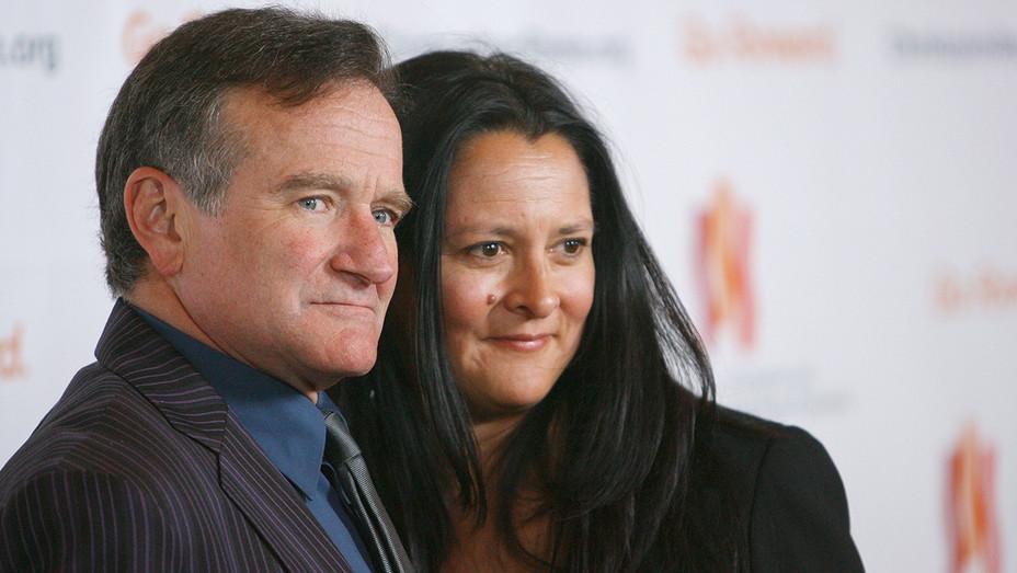 Robin Williams Marsha Garces Williams - Getty - H 2018