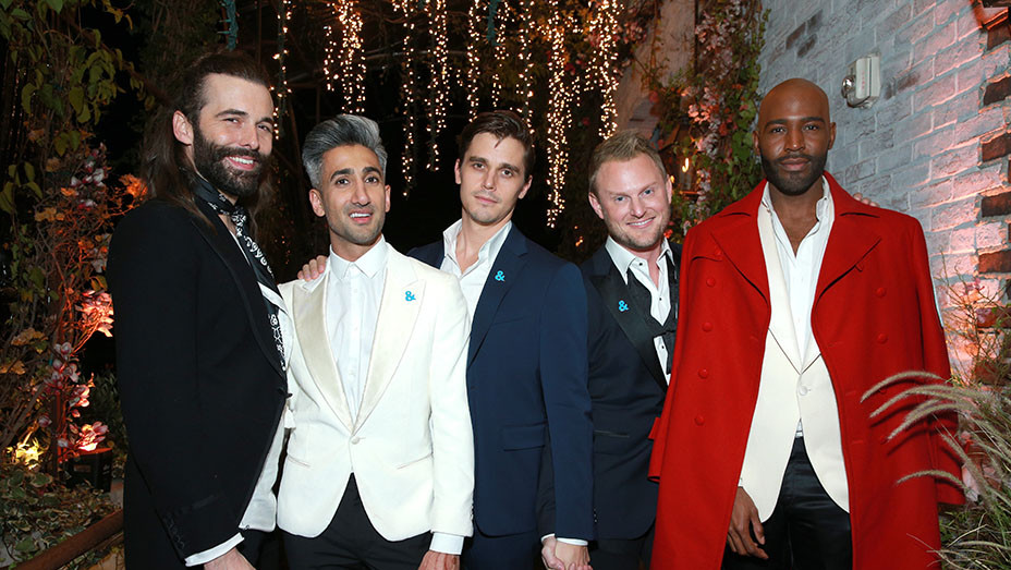 Netflix's Queer Eye premiere screening and after party on February 7, 2018 - Getty- EMBED 2018