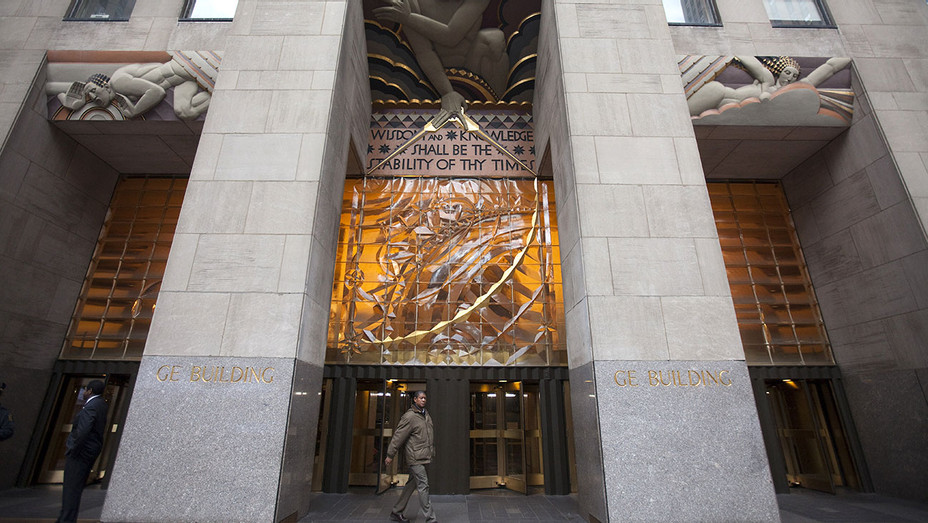 30 Rockefeller Plaza, the headquarters of NBC and General Electric NY - Getty-H 2018