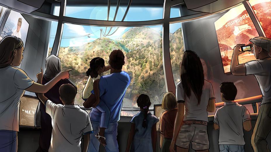 Warner Bros. tramway - Publicity-H 2018