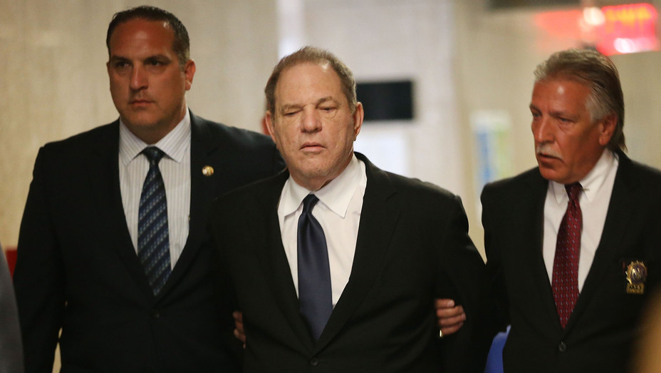 Harvey Weinstein in Court on July 9 - H Getty 2018