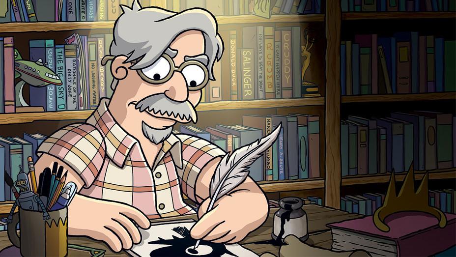 THR - Matt Groening - Illustration by The Ululu Co.- H 2018