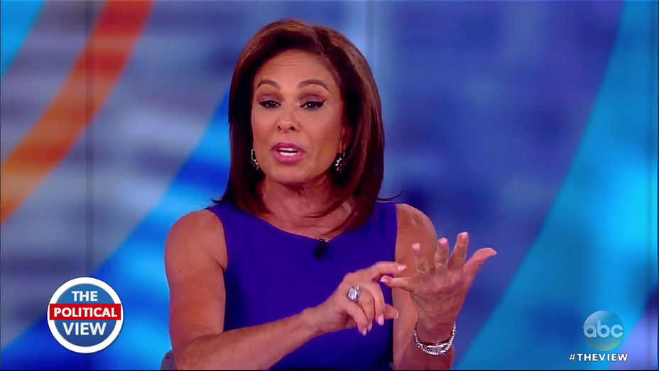 Jeanine Pirro The View - Screengrab - H 2018