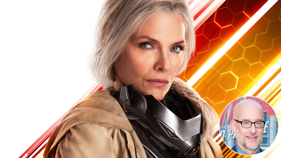 Michelle Pfeiffer Ant Man and The Wasp with Peyton Reed - H INSET