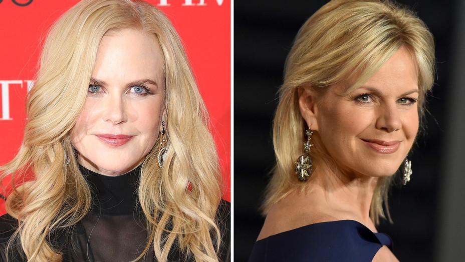 Nicole Kidman Gretchen Carlson Split - Getty - H 2018