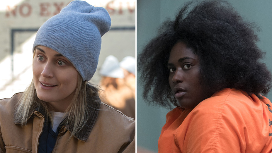 Piper and Taystee_Orange is the New Black - Publicity - H Split 2018