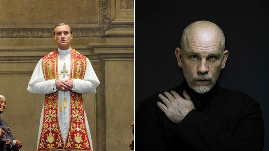The Young Pope John Malkovich Split - H Publicity 2018
