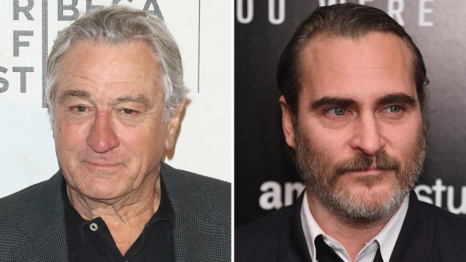 Robert De Niro Joaquin Phoenix Split - Getty - H 2018