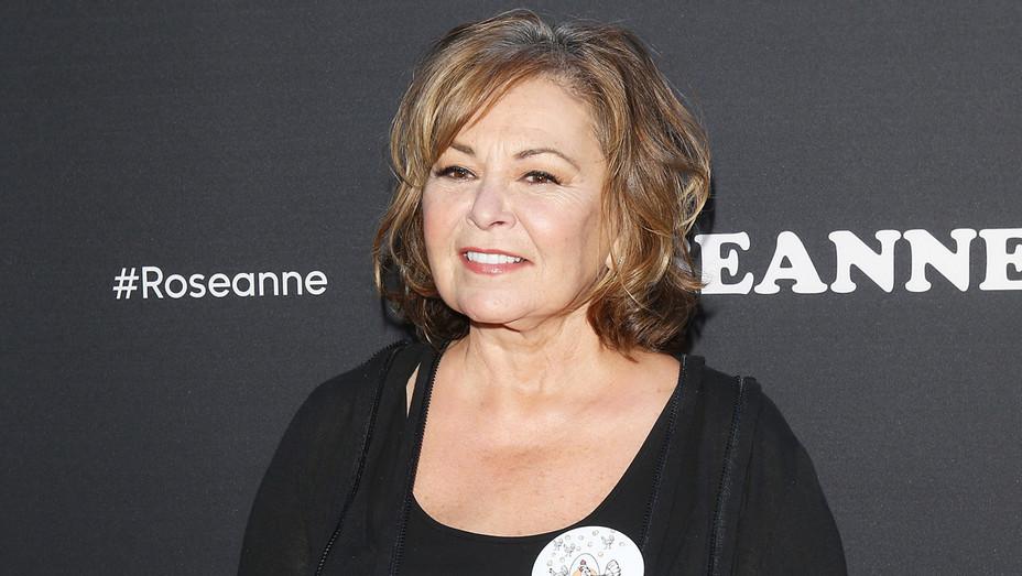 Roseanne Barr at Roseanne Premiere - Getty - H 2018