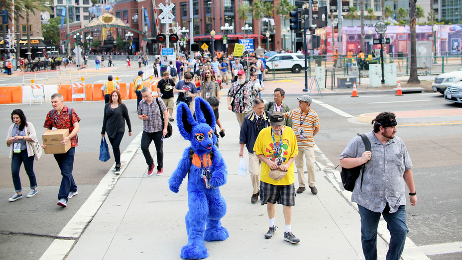 San Diego Comic Con Convention Atmosphere - H - 2017