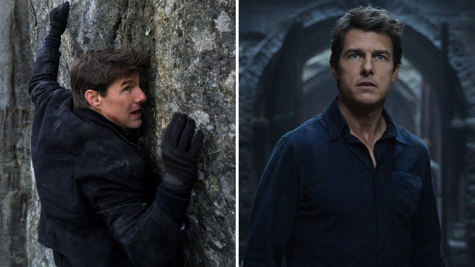 Tom Cruise in Mission Impossible Fallout and The Mummy - Photofest - H Split 2018