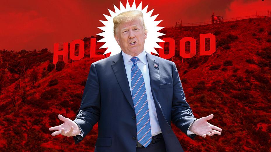 Trump Hollywood Comp - iStock - H 2018