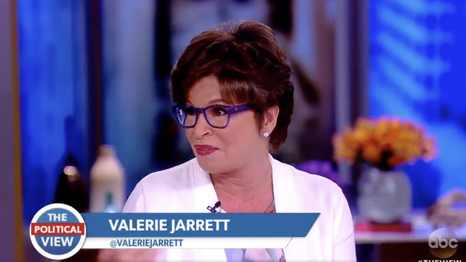 Valerie Jarrett on The View - Screengrab - H 2018