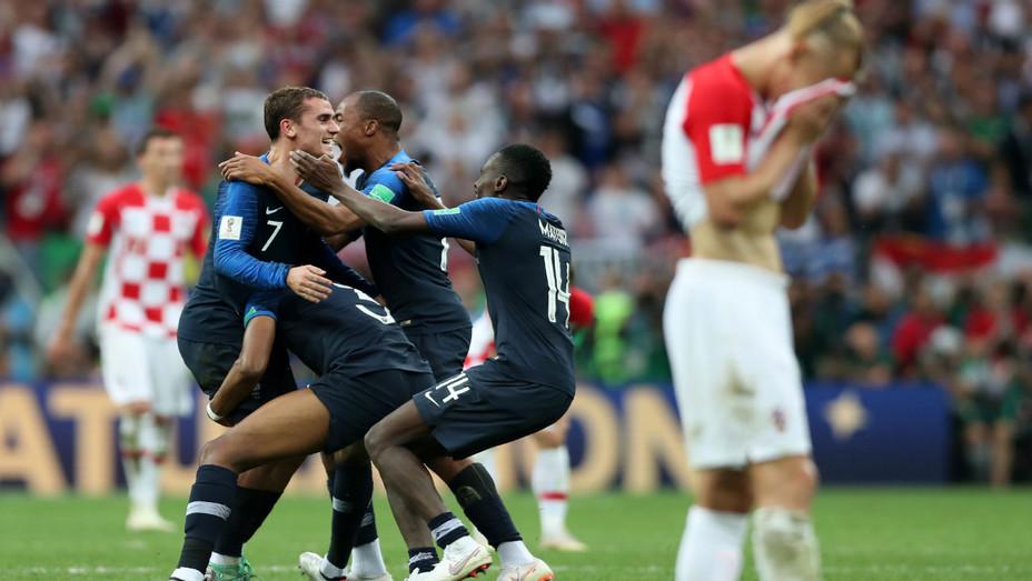 World Cup Final France v Croatia