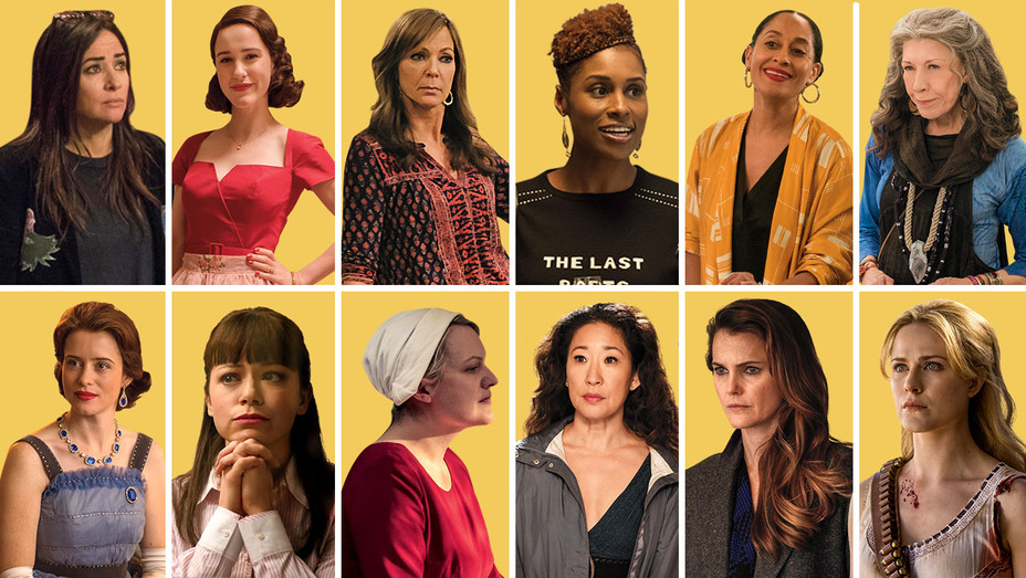 12 Female Stars Taking Charge of This Year's Emmys Race - Split-Publicity-H 2018