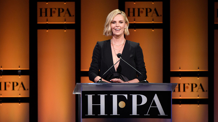 HFPA - Charlize Theron - Publicity-H 2018