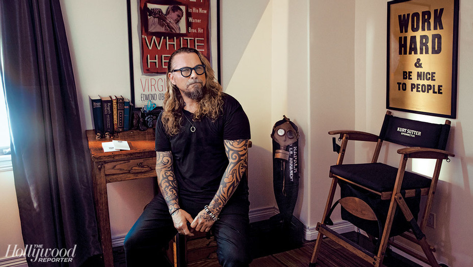 THR - Creative Space -  Kurt Sutter -Photographed by Austin Hargrave- H 2018