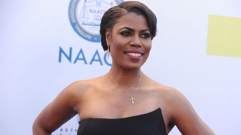 Omarosa Manigault attends the 48th NAACP Image Awards - Getty - H 2018