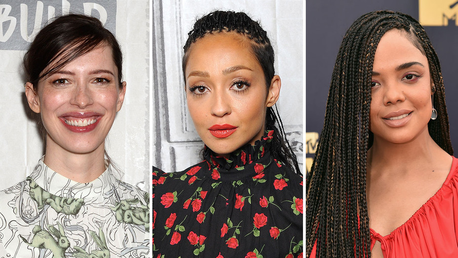 Rebecca hall, Ruth Negga and Tessa Thompson_Split - Getty - H 2018