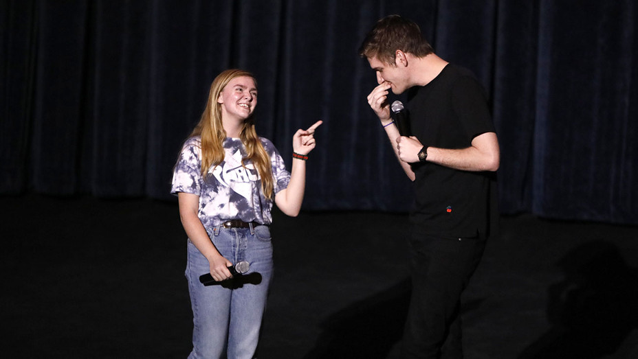 Arclight Hollywood's screening of Eighth Grade -Elsie Fisher and Bo Burnham- H 2018