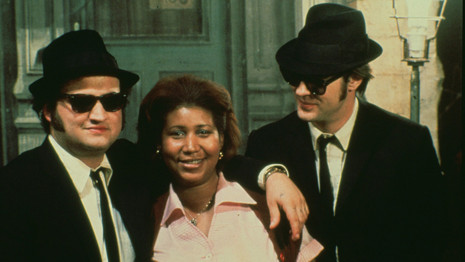 Aretha Franklin in Blues Brothers 1980 - Photofest - H 2018