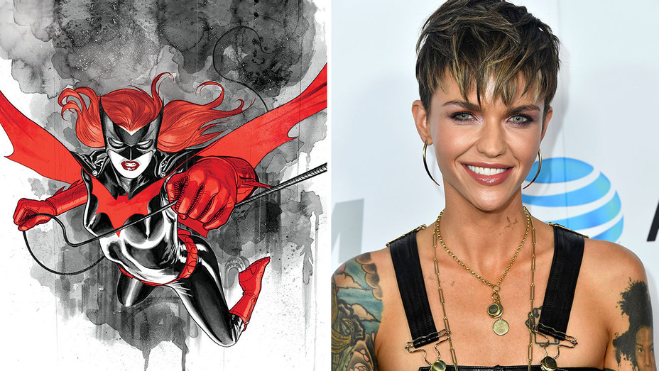 Batwoman and Ruby Rose-Split-Getty-H 2018