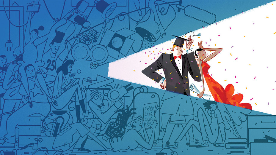 The Top 25 American Film Schools - Illustrations by Simone Massoni- H 2018