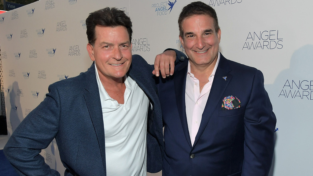 Charlie Sheen Hollywood Reporter