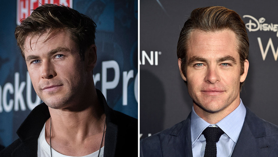 Chris Hemsworth and Chris Pine -Split-Getty-H 2018