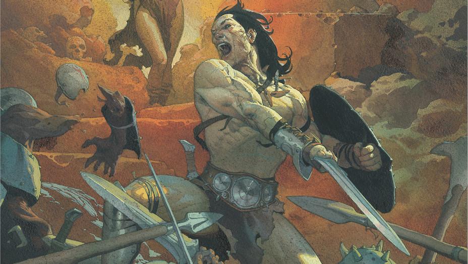 Conan the Barbarian Cover Main - Publicity - H 2018
