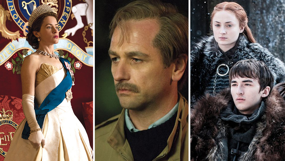 The Crown The Americans Game of Thrones Split - Publicity - H 2018