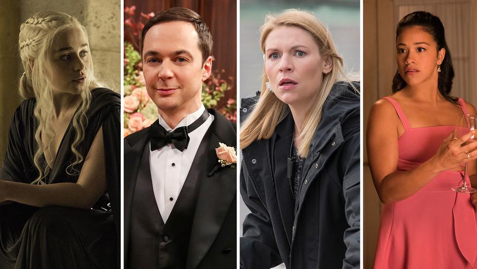 Game of Thrones Big Bang Theory Homeland Jane the Virgin Split - Publicity - H 2018