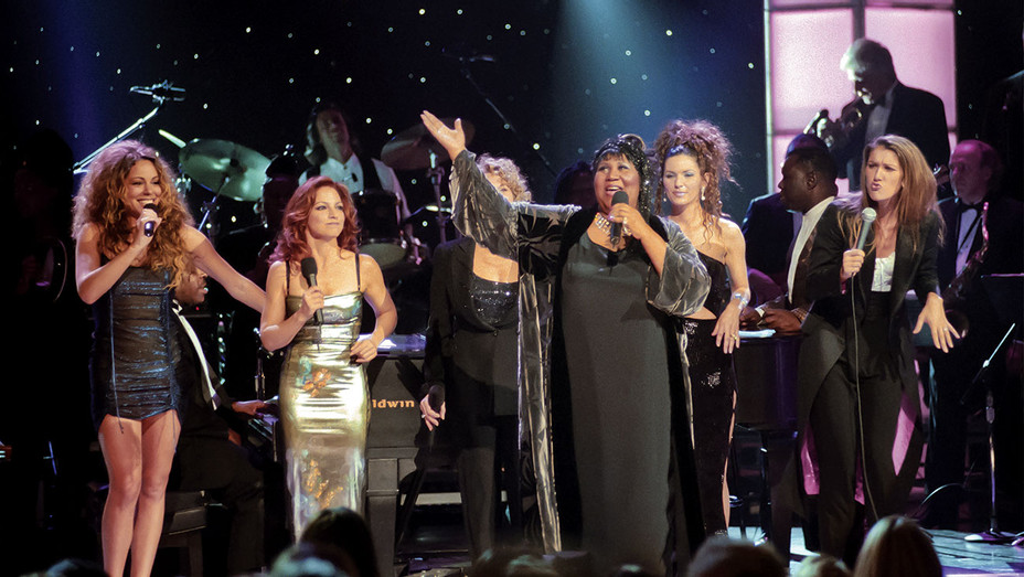 Aretha Franklin - Divas Live - VH1 Save the Music - April 14, 1998 - Getty -ONE TIME USE ONLY-H 2018