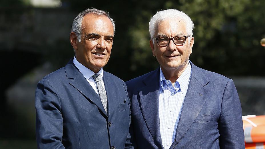 Alberto Barbera and Paolo Baratta - 74th Venice Film Festival - Getty-H 2018