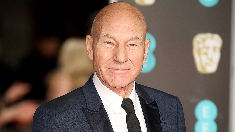 Patrick Stewart attends the EE British Academy Film Awards - Getty-H 2018