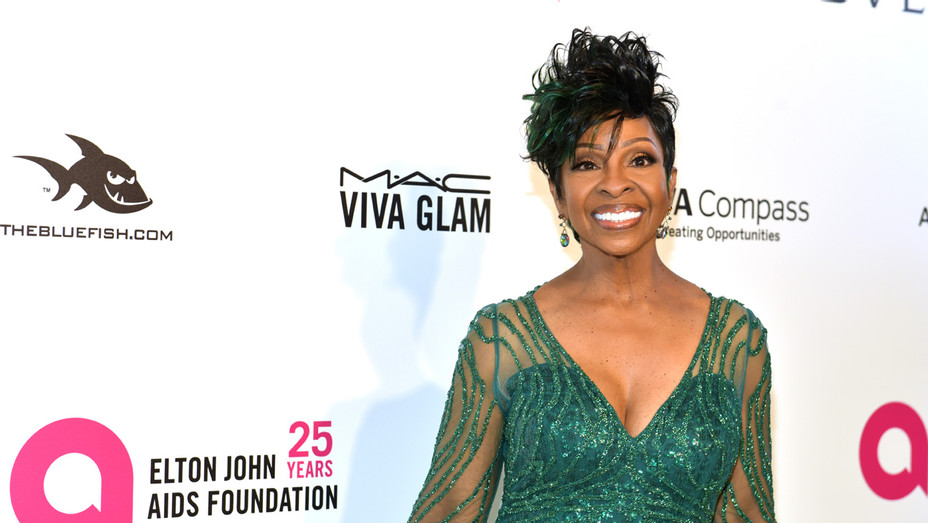 Gladys Knight at Elton John AIDS Foundation Academy Awards Event - Getty - H 2018