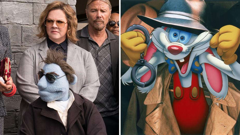 Happytime Murders_Who Framed Roger Rabbit_Split - Publicity - H 2018