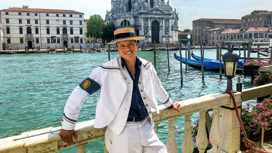 THR - Alex Hai - Trans Gondolier Making Waves on the Grand Canal - Publicity-H 2018