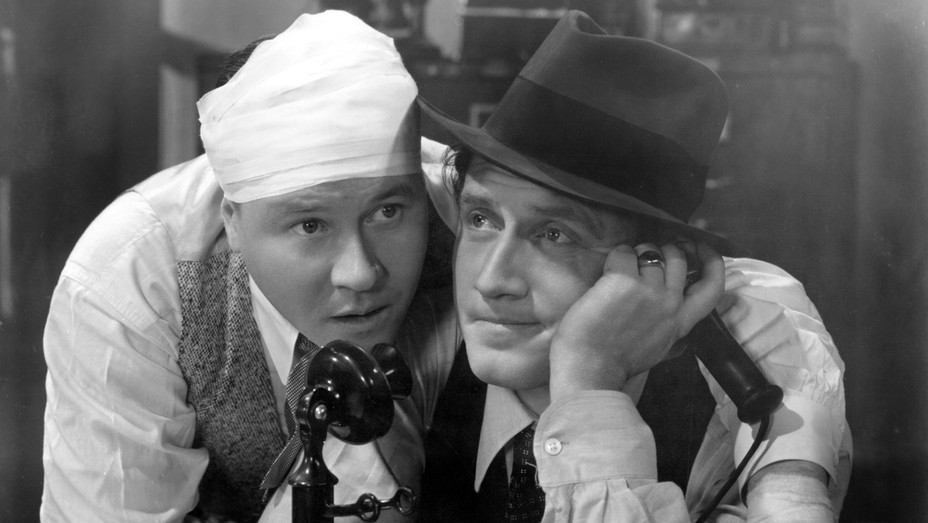Jack Oakie Spencer Tracy in Looking for Trouble - H - 1934