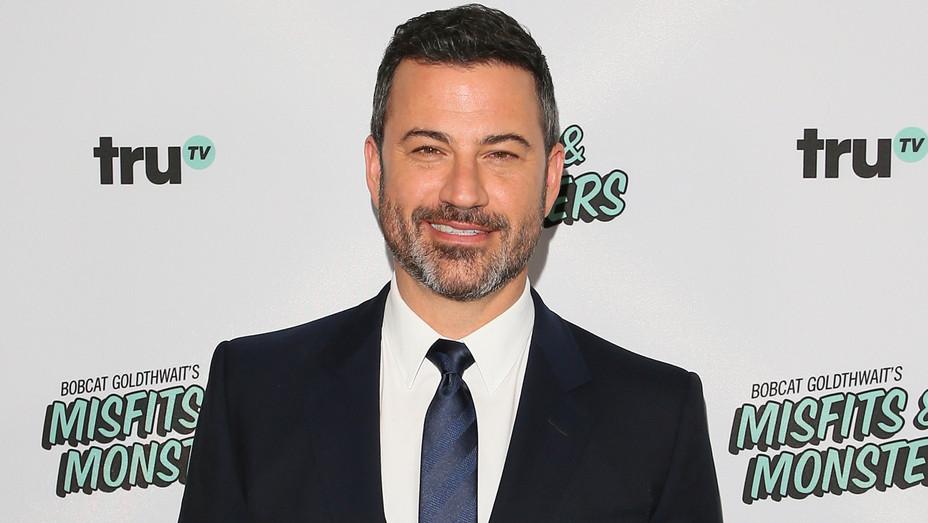 Jimmy Kimmel attends premier of 'Bobcat Goldthwait's Misfits & Monsters' - Getty - H 2018
