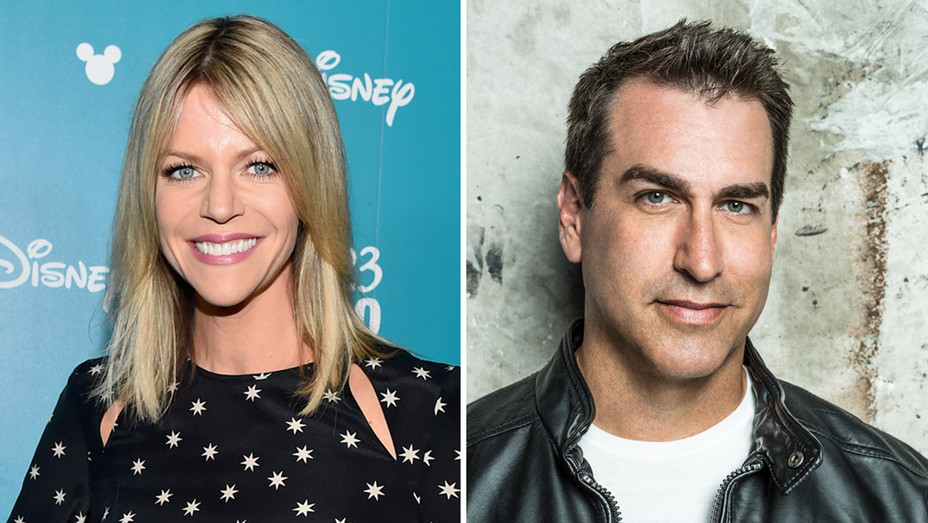 Kaitlin Olson and Rob Riggle - Getty - H Split 2018