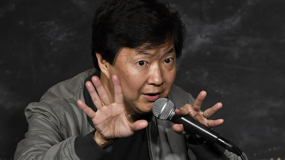 Ken Jeong Performing Stand Up - Getty - H 2018