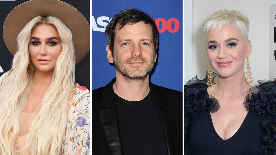 Kesha Dr Luke Katy Perry - Getty - H Split 2018