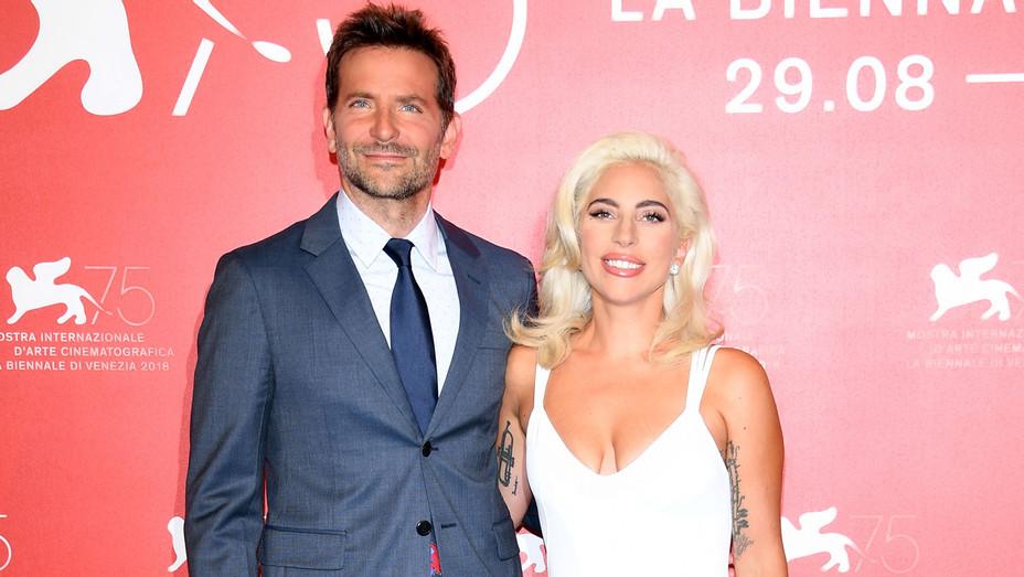 Lady Gaga and Bradley Cooper at Venice Film Festival - Getty - H 2018