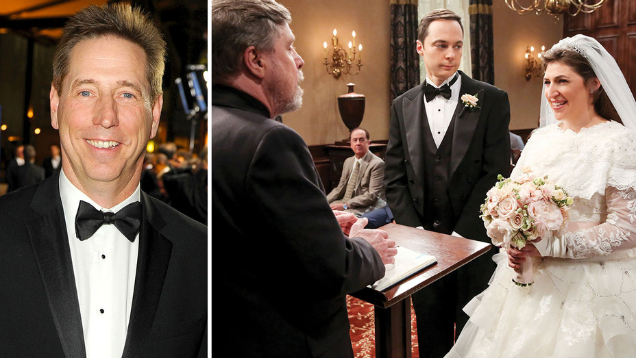 Mark Cendrowski and Big Bang Theory Still - Split-Getty-H 2018