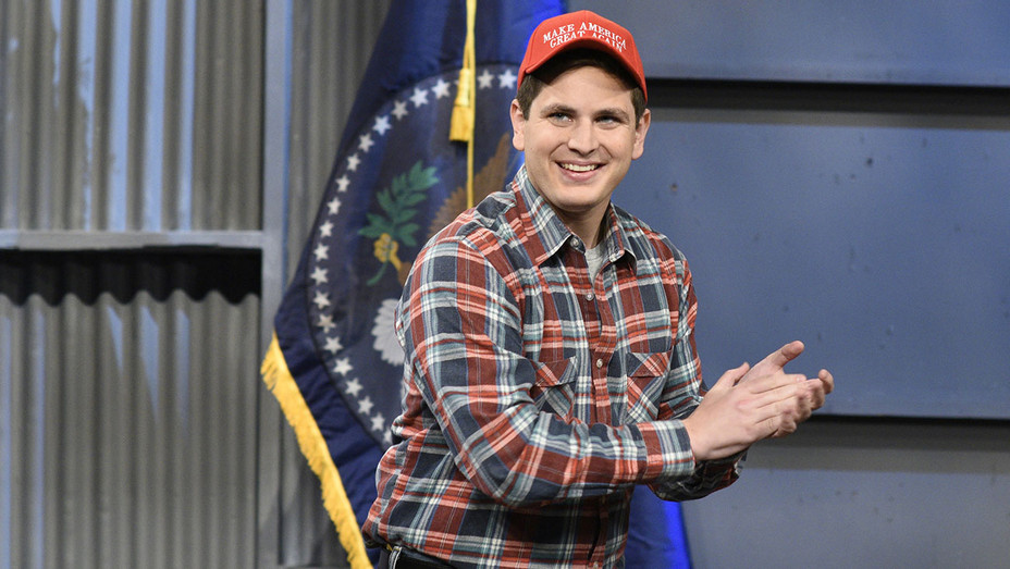 SATURDAY NIGHT LIVE - Luke Null in Studio 8H during Trucker Rally Cold Open - Publicity -H 2018