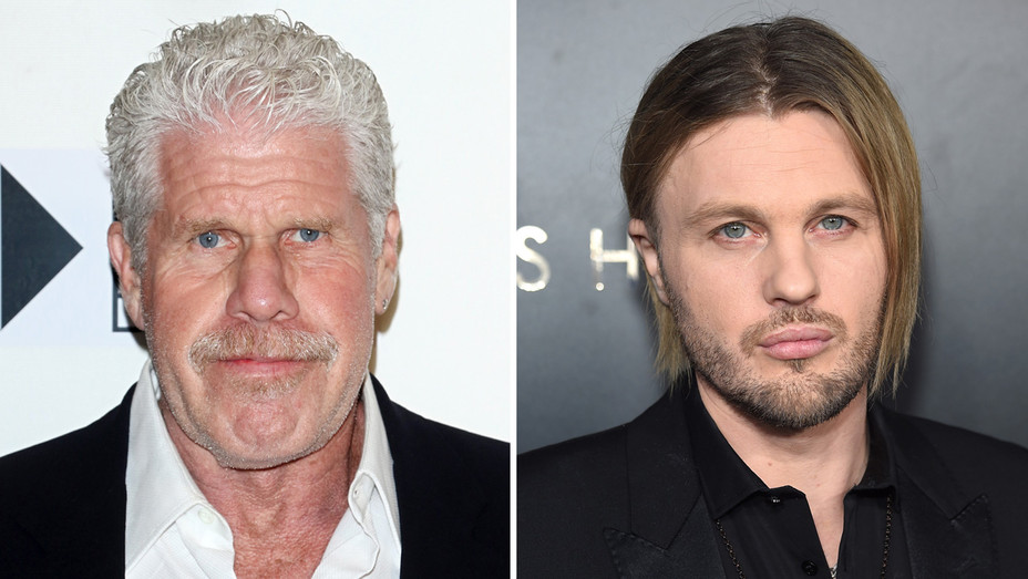 Ron Perlman Michael Pitt - Getty - H Split 2018