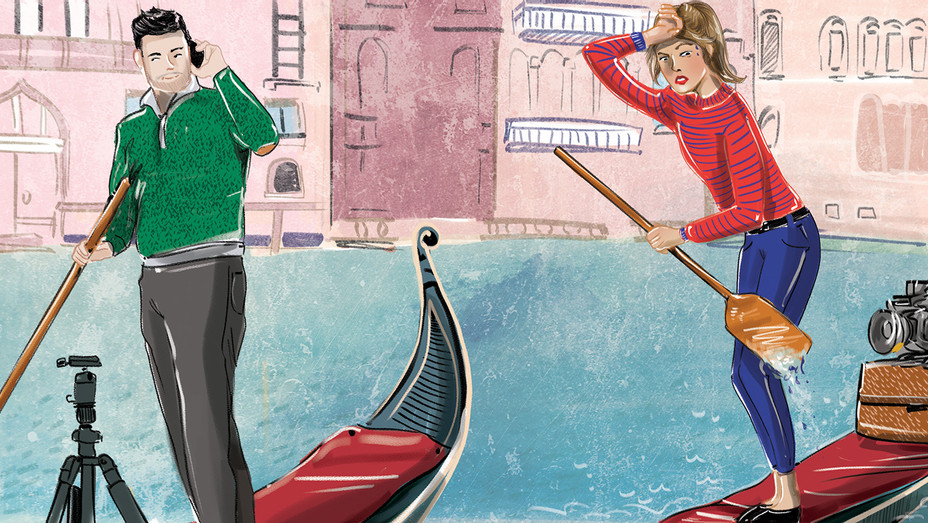 VENICE TO FEMALE FILMMAKERS SINK OR SWIM - Illustrations by Amber Day-SPLASH 2018